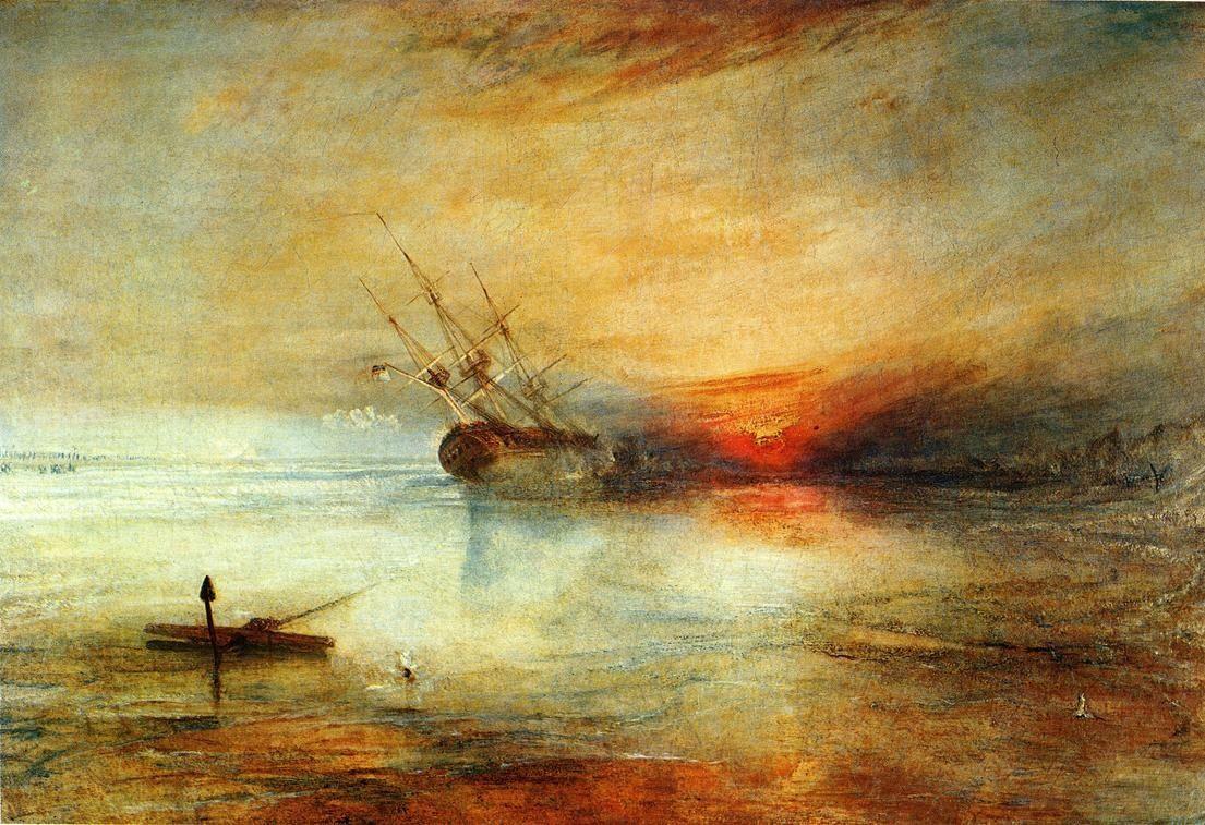 William Turner Techniques De Peinture A L Huile Art Romantique