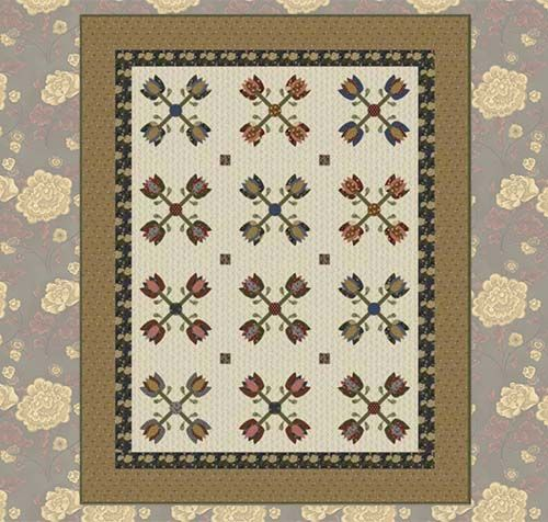 Free Quilt Pattern Made With The Jefferson City Fabric Line By Erin