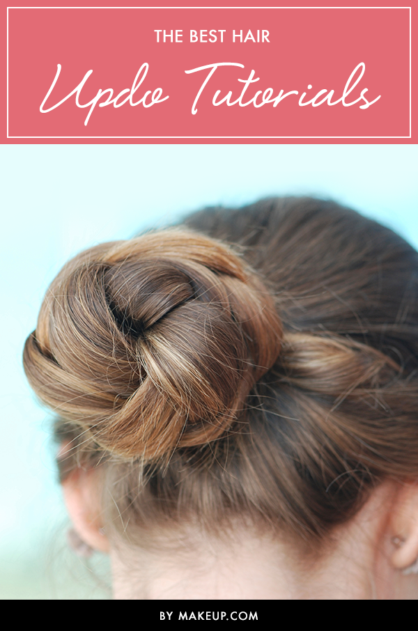 6 Easy Updo Hairstyle Tutorial Videos For All Hair Types Makeup Com By L Oreal Nurse Hairstyles Hair Updos Tutorials Cool Hairstyles