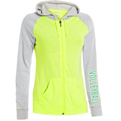 new product 2b1c8 0ea2e Casual Wear   Under Armour Women s Undeniable Full Zip Volleyball Hoodie