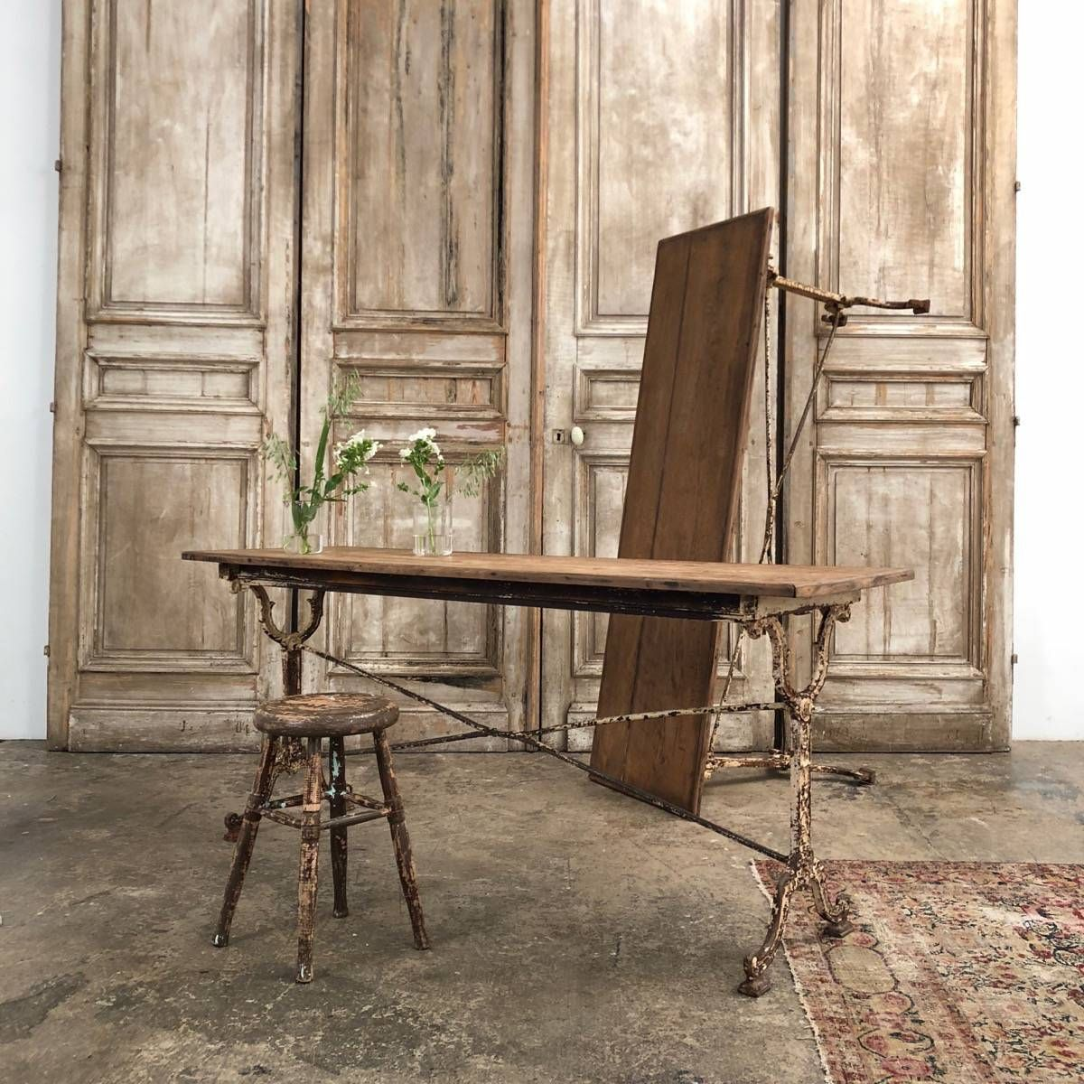 Large Bistrot Tables Table Mobilier Nord Ouest