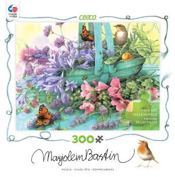 Ceaco Marjolein Bastin Summer Blooms 300 Large Piece Puzzle X