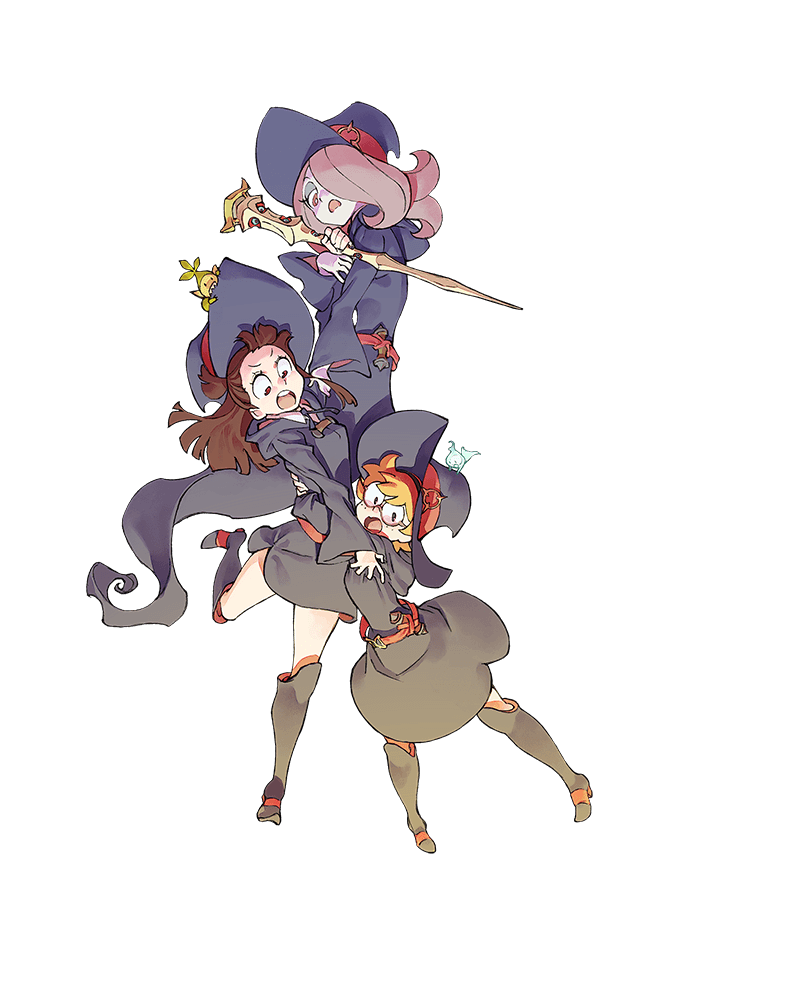 Little witch academia anime in 2018 pinterest sorciere and anime - Sorciere dessin ...