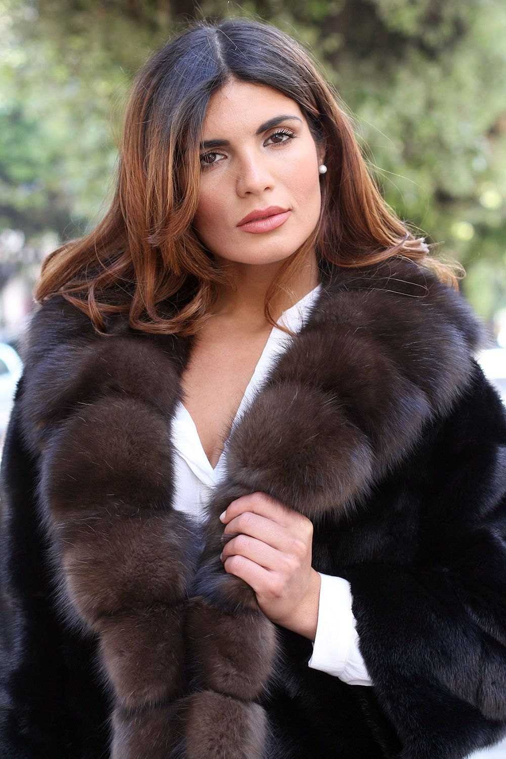 Pelz Pelzmantel Mantel Nerz Fur Coat Sable Zobel Mink ...
