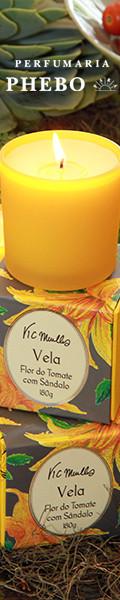 We love: velas perfumadas Perfumaria Phebo + Vic Meirelles