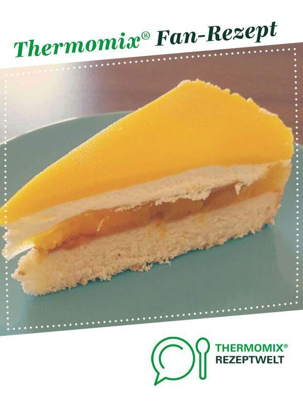 Pfirsich-Maracuja-Torte (Solero -Torte) #leckerekuchen