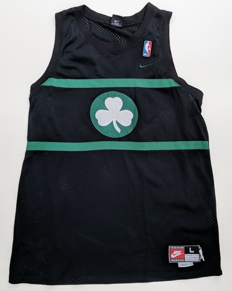 f8545a481bba Celtics Paul Pierce Jersey L Long 1925 Boston NBA Nike Rewind Retro Black  Sewn  Nike  BostonCeltics
