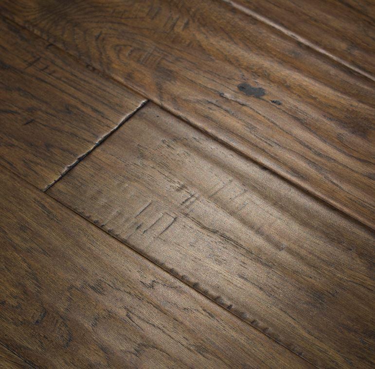Hickory Plank Collection Flintlock Handscraped Sample