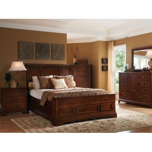 Monroe King Sleigh Bedroom Suite