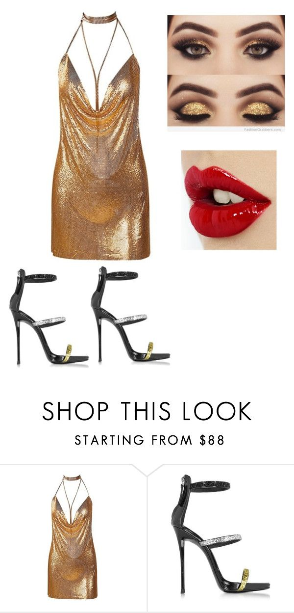 """Participação Especial no X-Factor Br"" by rafah-0lliver ❤ liked on Polyvore featuring beauty and Giuseppe Zanotti"