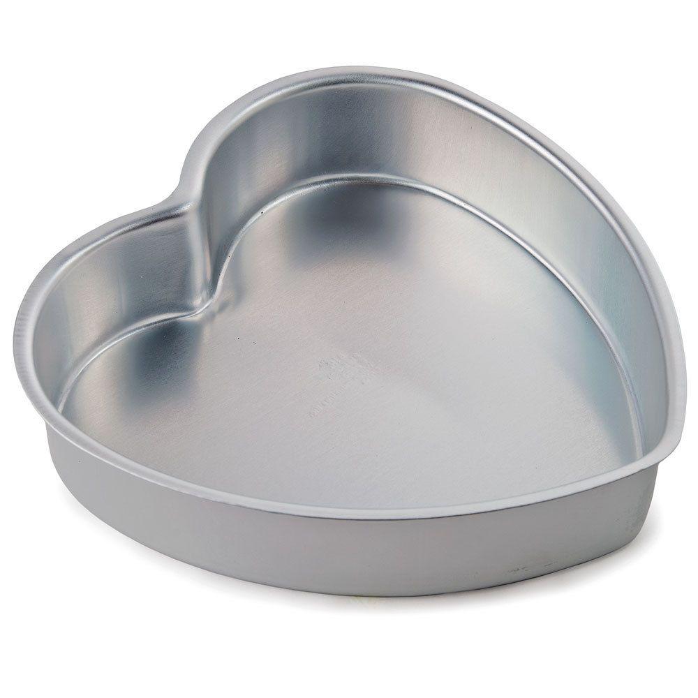 Wilton 2105 601 Decorator Preferred 8 X 2 Aluminum Heart Shaped Cake Pan Heart Shaped Cake Pan Heart Shaped Cakes Cake Pans
