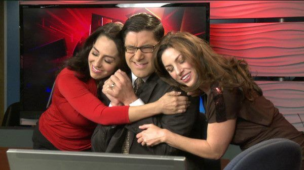 Fox 5's Morning News Team - Shally Zomorodi and Chrissy
