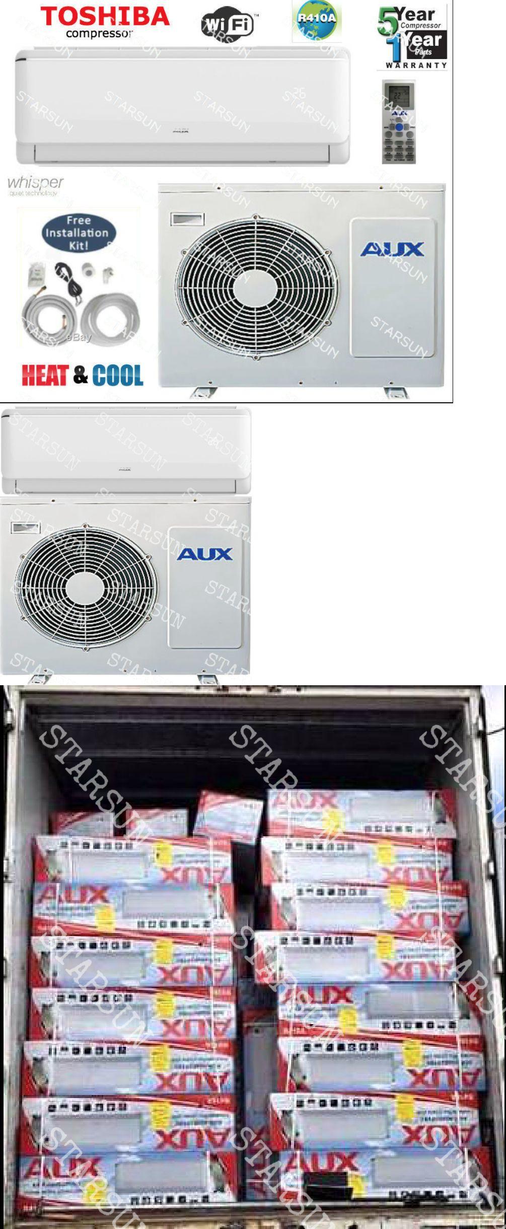 Details about 12,000 BTU AC Air Conditioner, Heat Pump