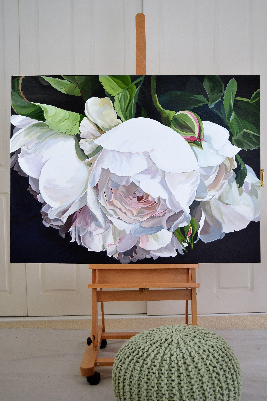 DESDEMONA - SOLD 120 x 90cm. Deep Edge Canvas (3.5cm) Acrylics with ...