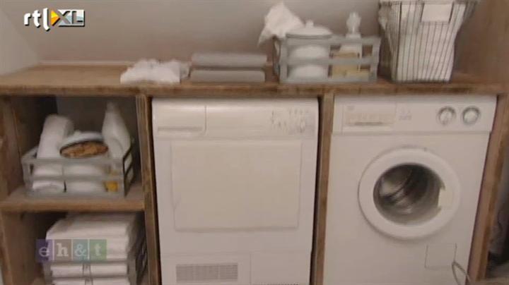 Wasmachineverhoger eigen huis & tuin steigerhout ideeen