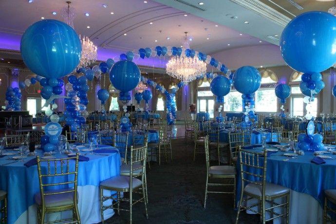 Dance Floor Decor Turquoise Amp Royal Blue Balloon Gazebo