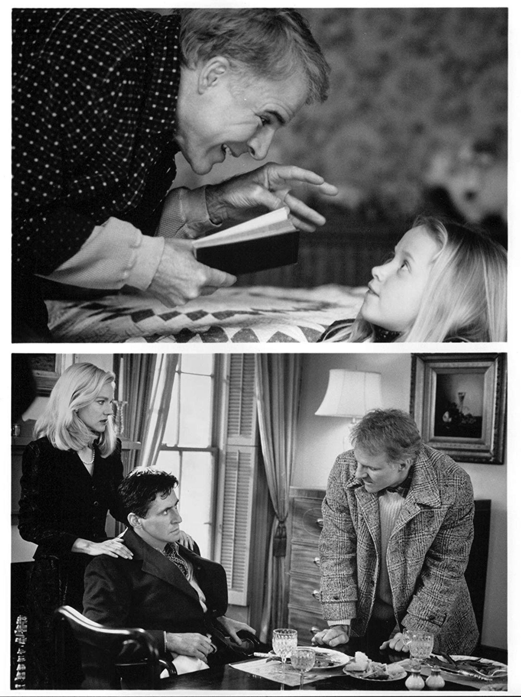 """A Simple Twist of Fate"" movie still, 1994. Top photo (L"