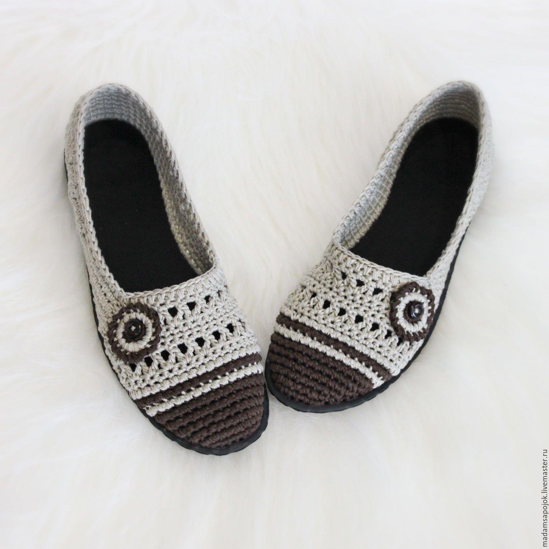 zapatos cómodos   CROCHET   Pinterest   Zapatos tejidos, Zapatos y ...