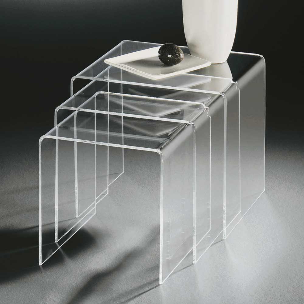 Tischchen Set aus Acrylglas modern (3-teilig) Jetzt bestellen unter ...