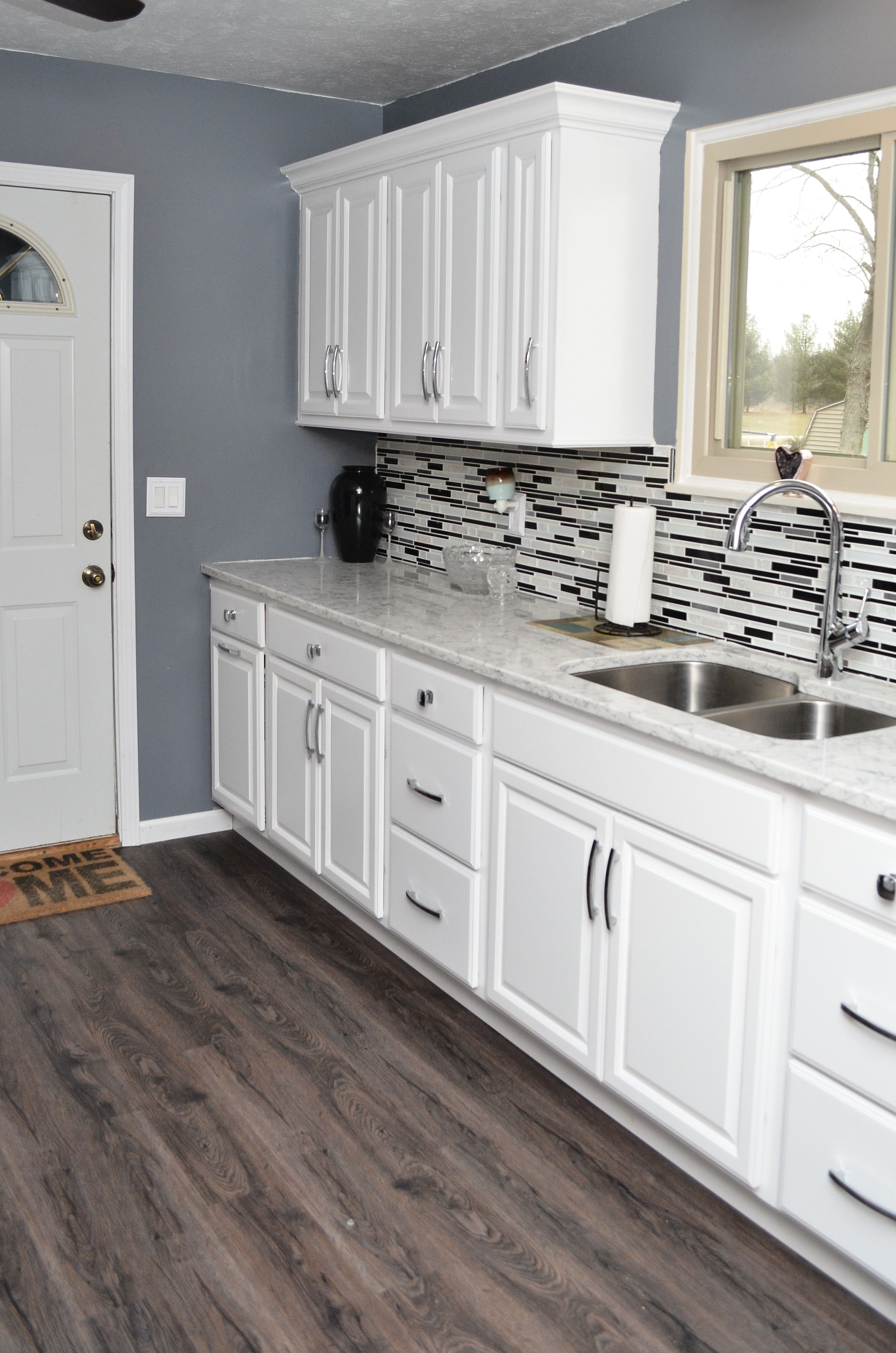 Haas Liberty Square White Maple | Kitchen cabinetry, White ...