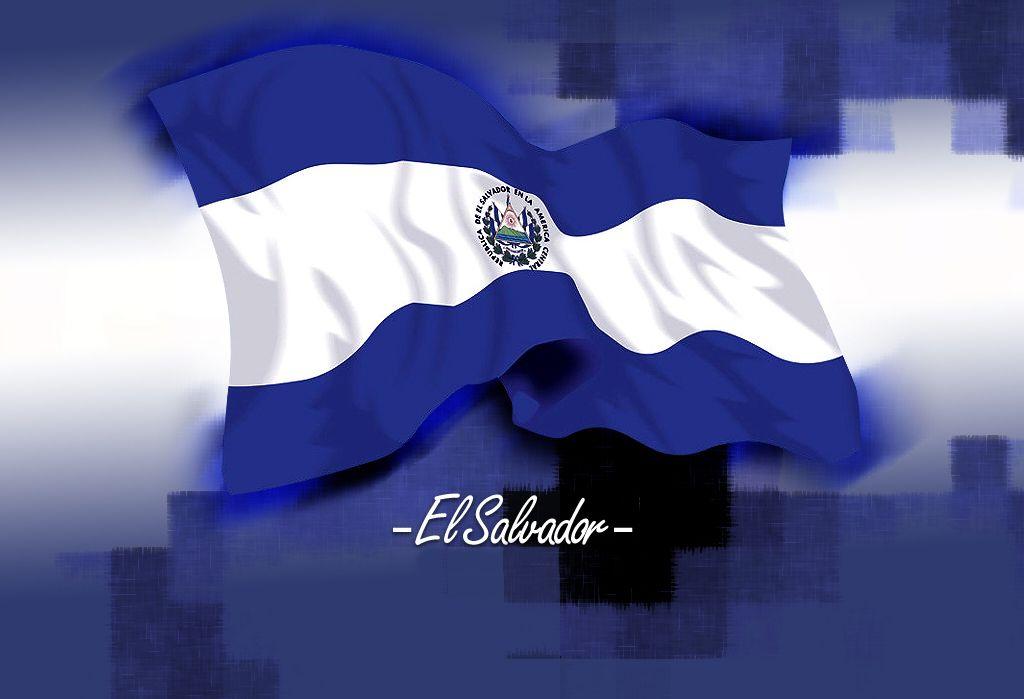 La Bandera De El Salvador Los Colores Azules Representan El Cielo