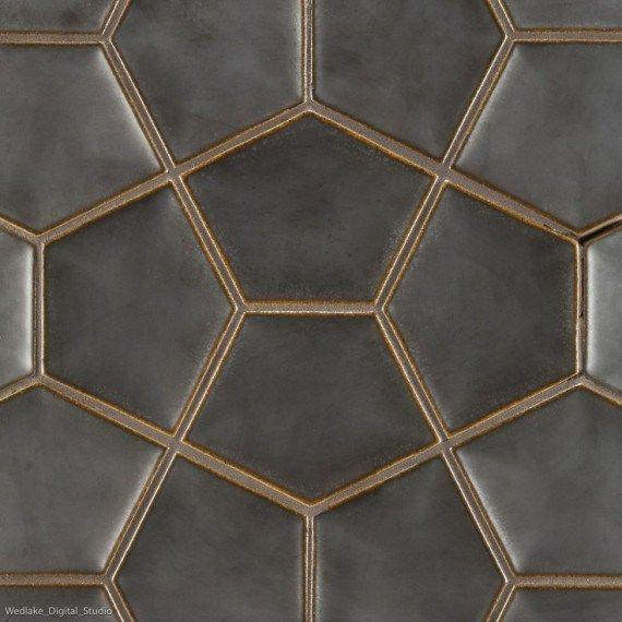 Tiled3 Hexagon Tile Backsplash Ann Sacks Tiles Hexagon Tiles