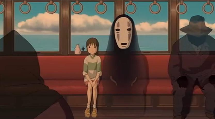 动画片《千与千寻》截图