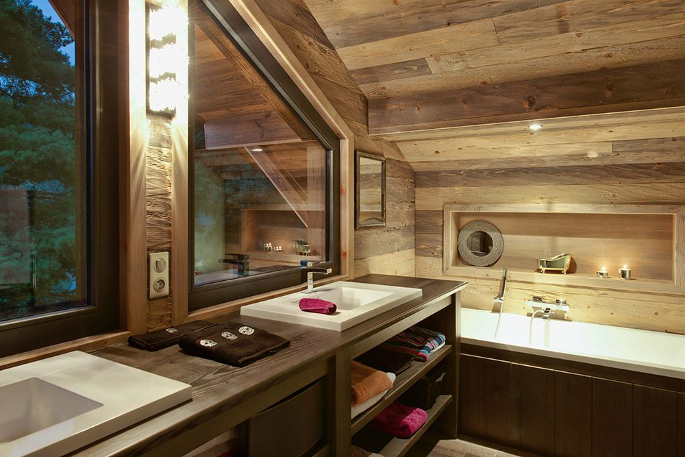 Decoration Chalet interieur et Amenagement | Plus Haut Design ...