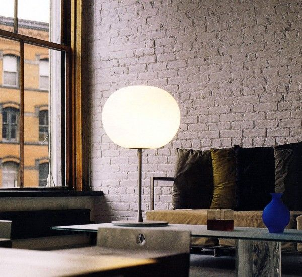 Glo Ball T By Flos Is A Simple And Elegant Table Lamp. A Globe