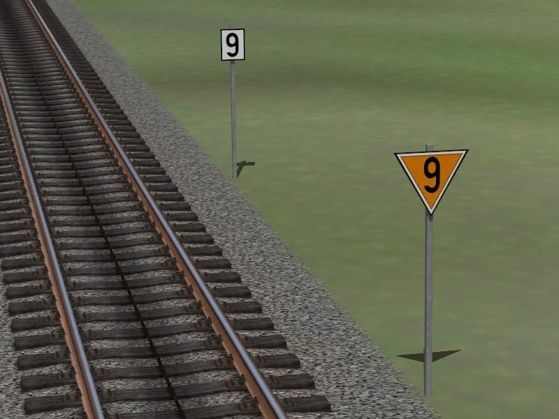 Langsamfahrsignale Lf6 & Lf7 (Set 1)
