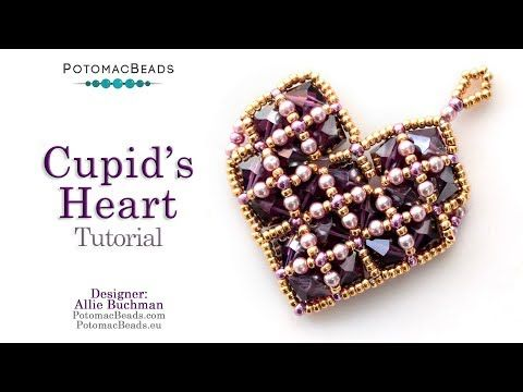 Photo of Cupid's Heart – DIY Jewelry Making Tutorial by PotomacBeads