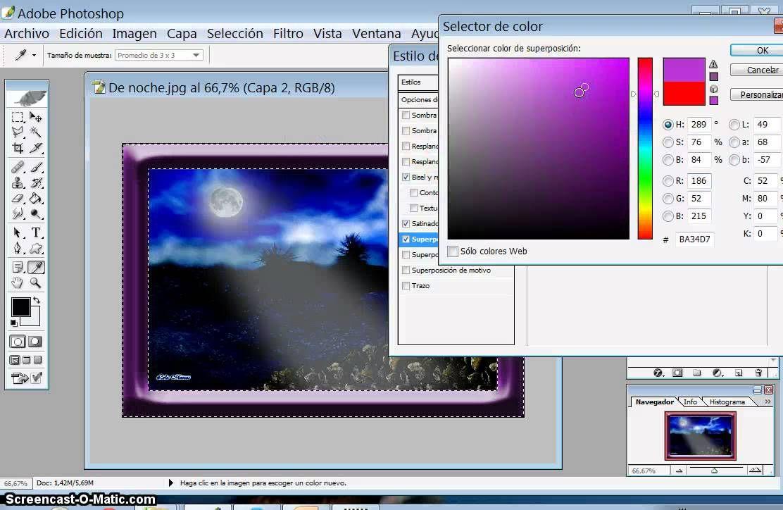 Tutorial hacer diferentes marcos con Photoshop | Photoshop y otros ...