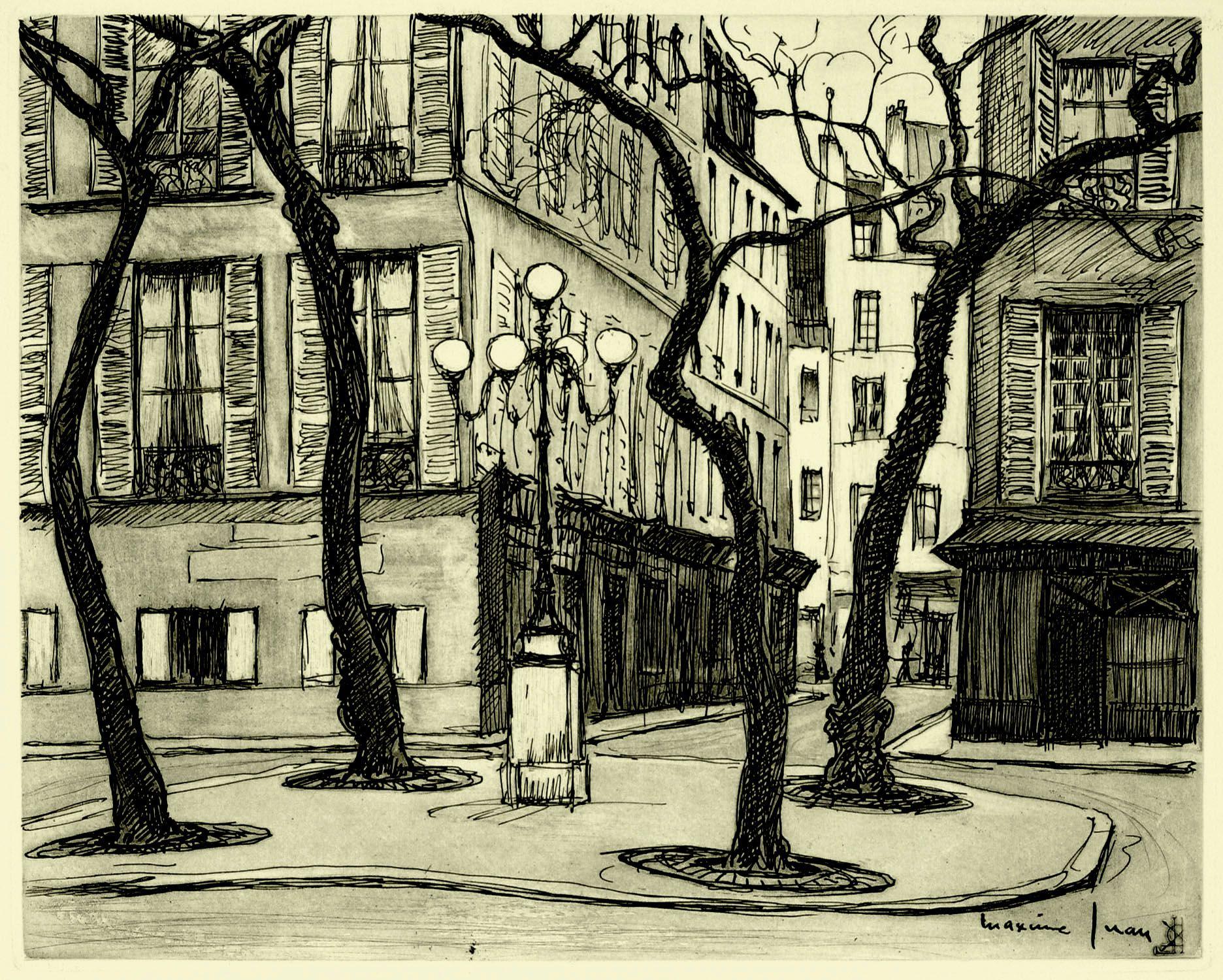 La Place Furstenberg Maxime Juan 1900 - . Catalog