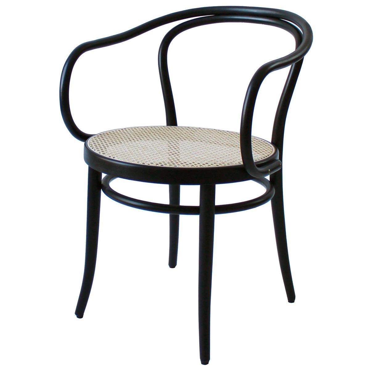 Ton Armchair 30 Cane Black Iconic Chairs Chair Dining Chairs