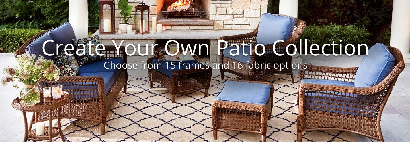 20 Percent Off Home Depot Coupon: Create Your Own Patio Collection Hero  Image