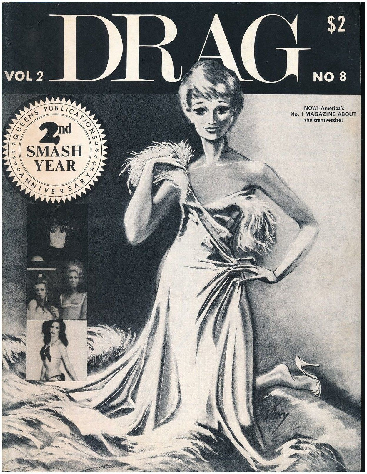 Pin on vintage Drag cover art