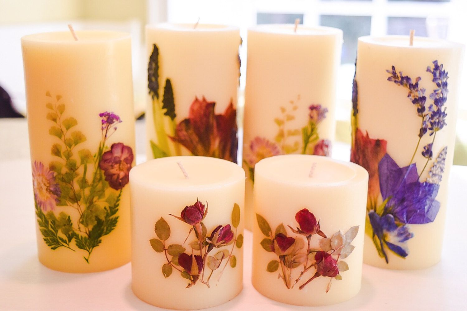 Memorial candles with your special bouquet funeral flower candles memorial candles with your special bouquet funeral flower candleswedding flower candles save your own flower bouquet candles 20 off izmirmasajfo