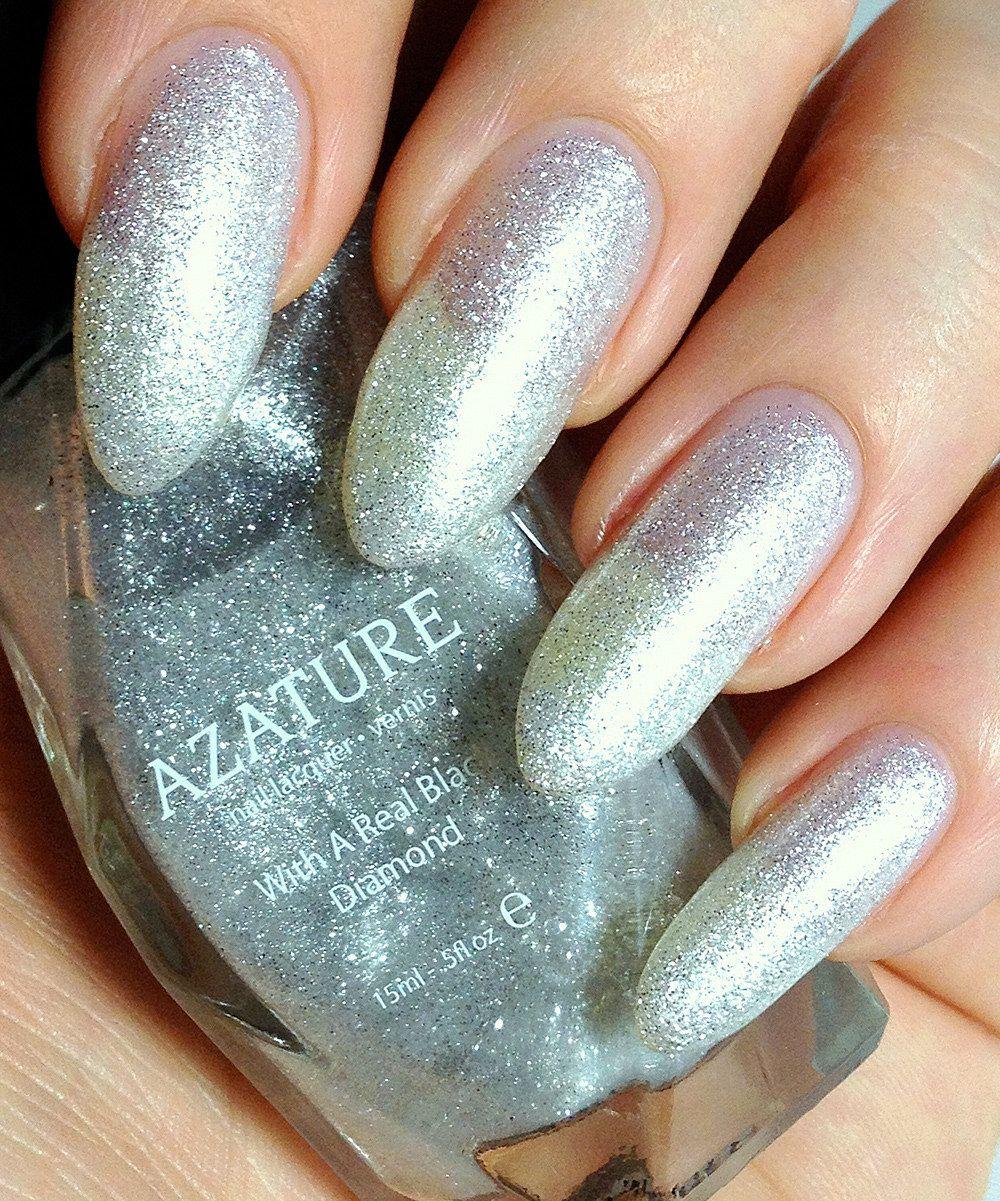 AZATURE White Diamond Nail Polish | Nail Polish | Pinterest