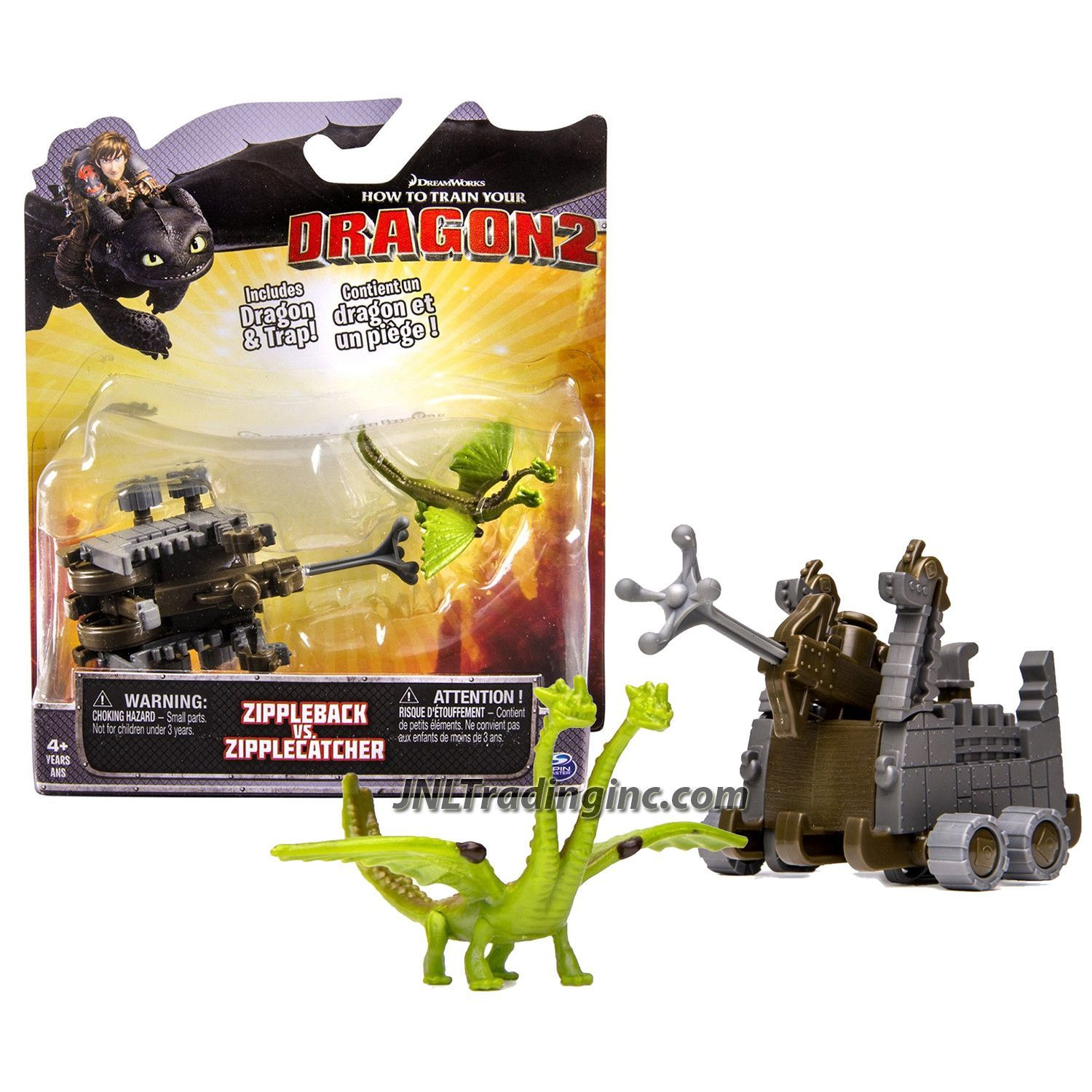"""HOW TO TRAIN YOUR DRAGON2 SNOTLOUT VS ERET 3/"""" ACTION FIGURE 2PK VIKING WARRIORS"""