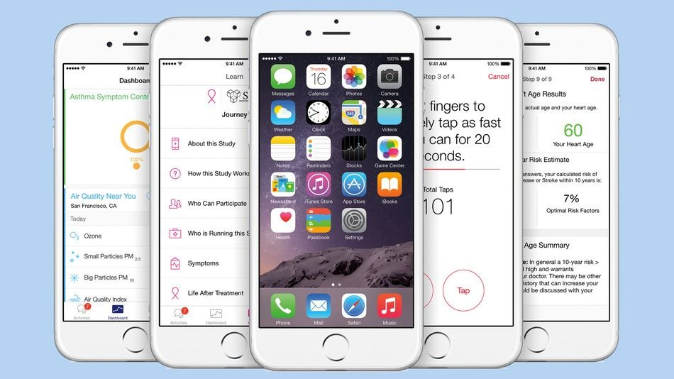 #Apple's #ResearchKit is now open to app developers and medical researchers: http://on.mash.to/1FP0Si1