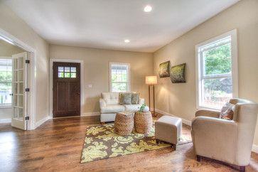 Light tan walls, green/tan rug | For the Home | Craftsman ...