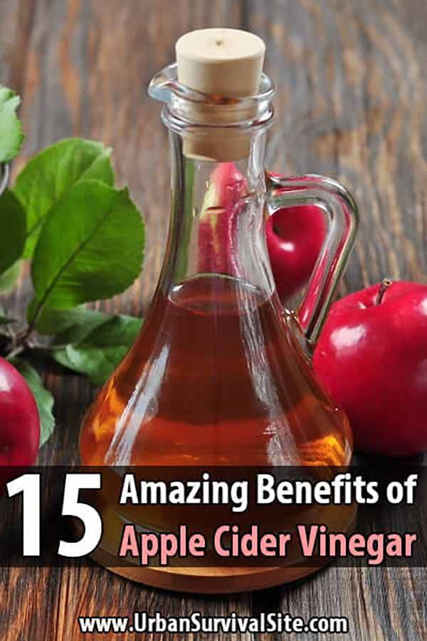 15 Amazing Benefits of Apple Cider Vinegar #applecidervinegarbenefits