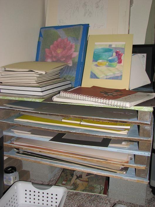 My Homemade Super Cheap Flat File Wetcanvas Flat Files Artist