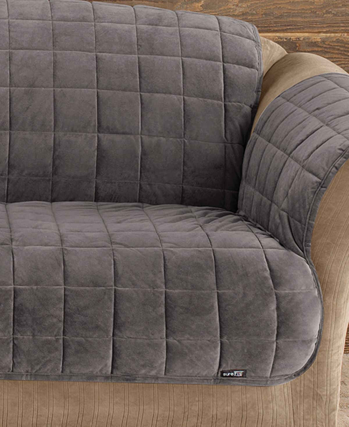 Sure Fit Velvet Deluxe Pet Loveseat Slipcover With Sanitize Odor Release Reviews Slipcovers Home Decor Macy S Loveseat Slipcovers Slipcovers For Chairs Love Seat