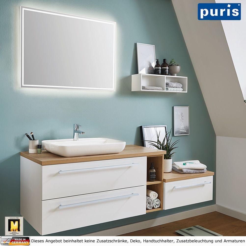 Puris Kera Plan Badm Bel Als Set 170 Cm Mit Aufsatzwaschtisch Keramik Impuls Home Badezimmer Badmobel Badezimmermobe In 2020 Bathroom Interior Home Decor Interior