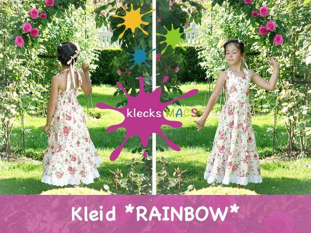 "klecksMACS E-Book ""Rainbow"" - extravagantes Stufenkleid ..."