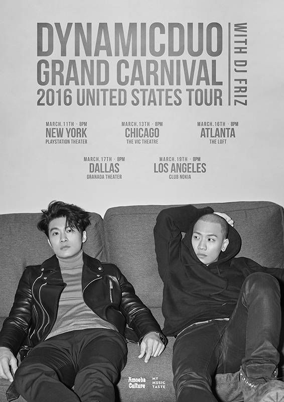 Dynamic Duo Announces Dates with Poster for Upcoming US Tour