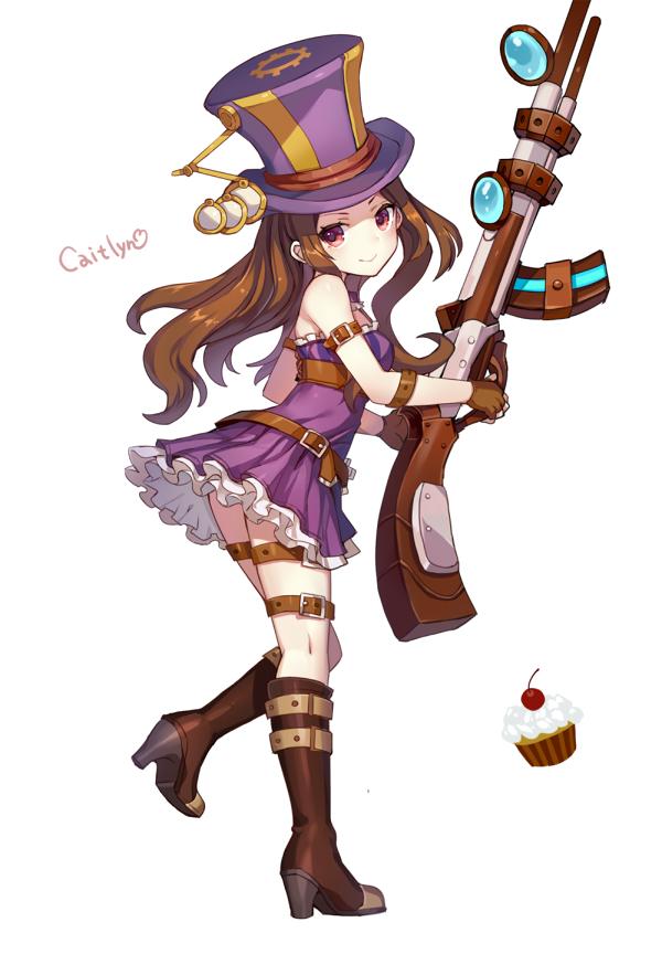 League Of Legends Caitlyn By Momoko Momopoco League Of