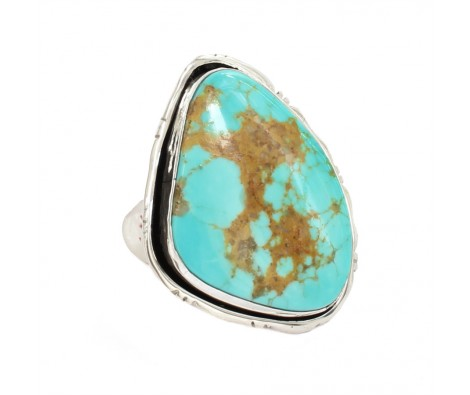 plus récent 85cb3 ca9db bague turquoise et argent Harpo   I like! in 2019   Rings ...