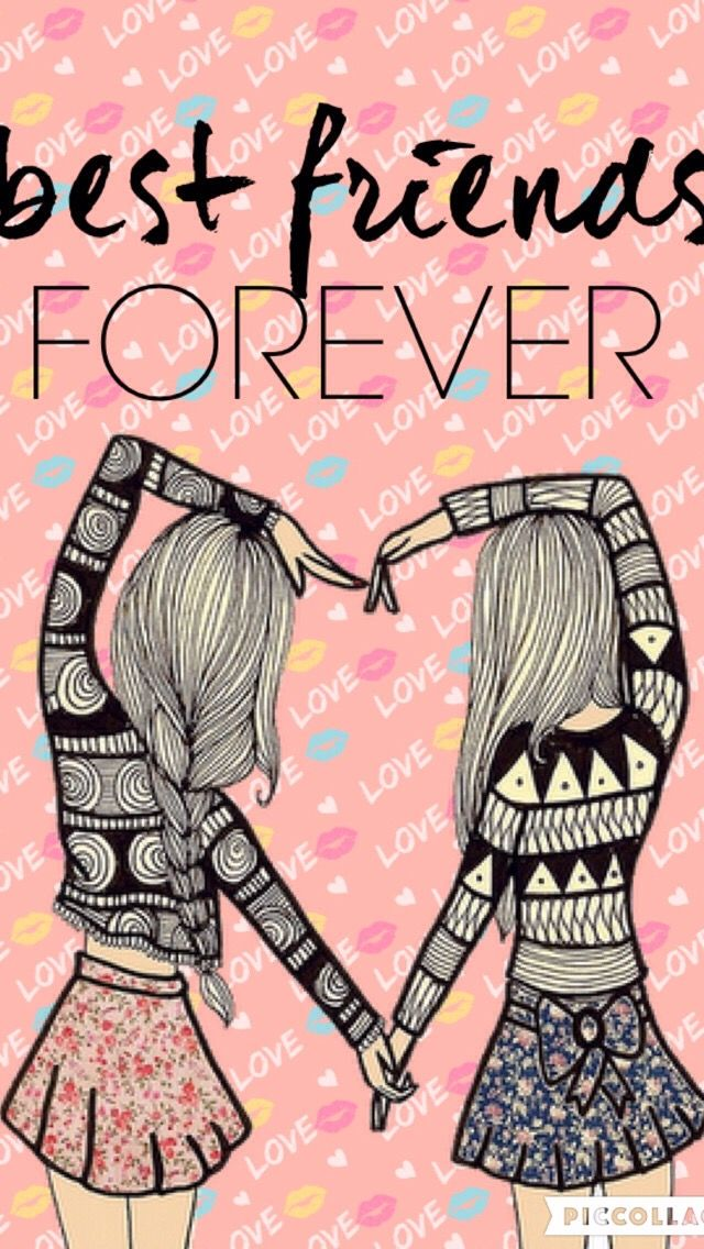 Pin By Lily On Fond Ecran Best Friends Cartoon Bff Drawings Bff Images